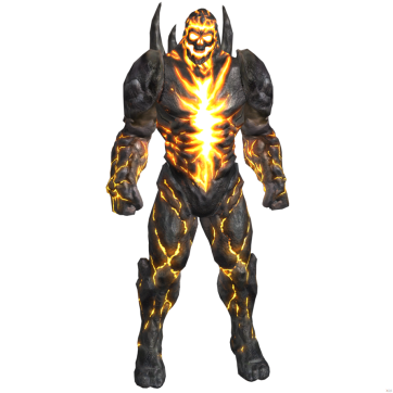Dark Khan (fusione fra Shao Khan e Darkseid): antagonista in MK vs DC